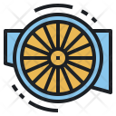 Airscrew Propeller Spaceship Icon