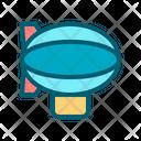 Airship Aircraft Travel Icon