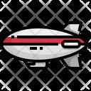 Airship Aircraft Craft Icon