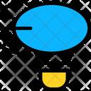 Airship Balloon Dirigible Icon