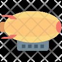 Blimps Aerial Aerostat Icon