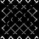 Aisle Corridor Gangway Icon