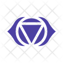 Ajna Third Eye Chakra Icon