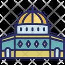 Al Aqsa Mosque Jerusalem Palestine Icon
