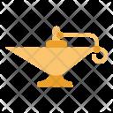 Aladdin Lamp Antique Icon