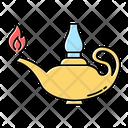 Aladdin Lamp Lamp Lit Icon