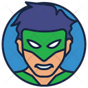 Alan Scott Warrior Superhero Icon