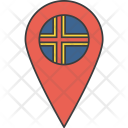 Aland European Country Icon