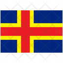 Flag Country Aland Icon