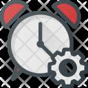 Alarm Settings Clock Icon