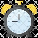 Alarm Clock Timepiece Chronograph Icon