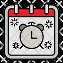 Alarm Clock Calendar Icon