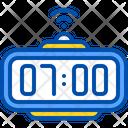 Alarm 7 Am Clock Icon