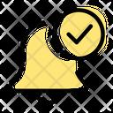 Alarm Check Icon