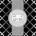 Clock Gray Design Icon