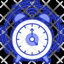 Morning Alarm Timepiece Ringing Alarm Icon