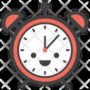 Alarm Clock Emoticon Emotion Icon