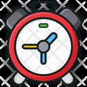 Alarm Clock Timepiece Timekeeper Icon
