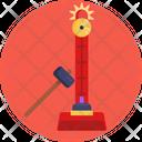 Alarm Clock Hammer Circus Icon