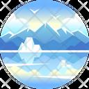 Alaska Glacier Glacier Bay Icon