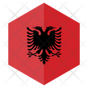 Albania Country Flag Icon