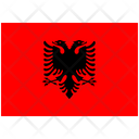 Flag Country Albania Icon