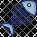 Albulidae Bonefish Fish Bone Icon