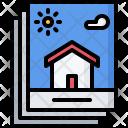 Photo Building Architecture Icon