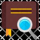 Album Find Magnifier Icon