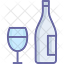 Alcohol Beer Bottle Wine Icon