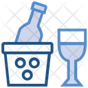 Drugs Glass Bottle Icon