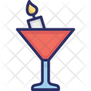 Alcohol Cocktail Glass Icon