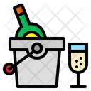 Champagne Bucket Wine Icon