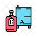 Homemade Alcohol Color Icon