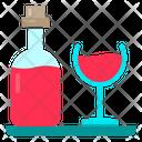Alcohol Wine Beverage Icon