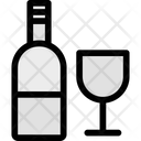 Alcohol Beer Champagne Bottle Icon