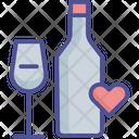 V Alcohol Alcoholic Beverage Beverage Icon
