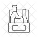 Linear Icon Alcohol Icon