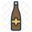 Alcohol Bottle Water Icon
