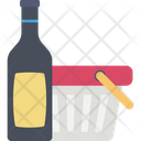 Alcohol Champagne Bucket Wine Bottle Icon