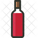 Alcohol Beverage Red Icon