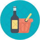 Alcohol Drink Bucket Icon