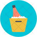 Alcohol Champagne Bucket Icon
