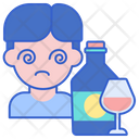 Alcohol Abuse Alcoholic Drinking Icon