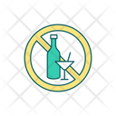 Alcohol Ban Alcohol Not Allowed Alcohol Restricted Icon