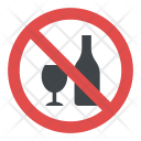 Alcohol banned Icon