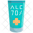Alcohol Gel Sanitizer Icon