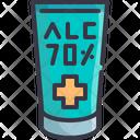 Alcohol Gel Sanitizer Icon