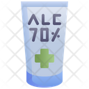 Alcohol Gel Hygiene Icon