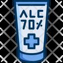 Alcohol Gel Hygiene Icon